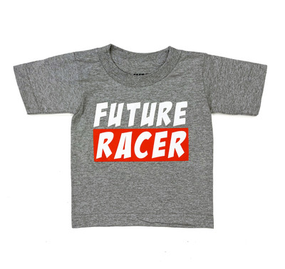 Fast Kids Club Future Racer 3 T-Shirt | Grey