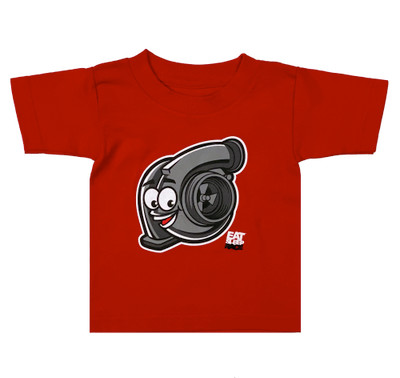 Fast Kids Club Turbo T-Shirt | Red