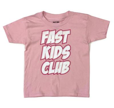 Fast Kids Club Comics T-Shirt | Pink