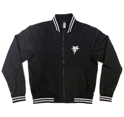 Bolt Palm Lightweight Bomber Jacket