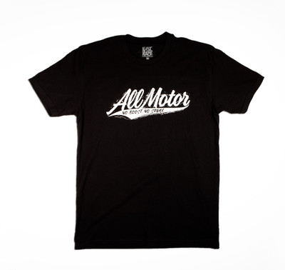 All Motor 11 Lightweight T-Shirt | Black