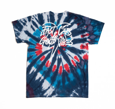 Bolt Palm T-Shirt | RWB Tie Dye