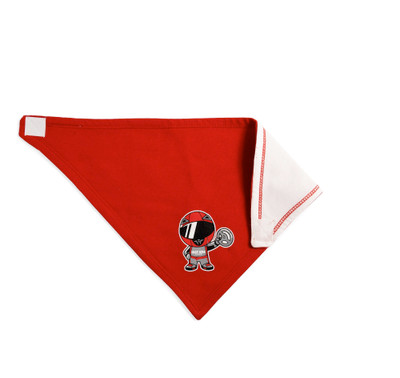 Infant Ricky Racer Bandana Bib | Red