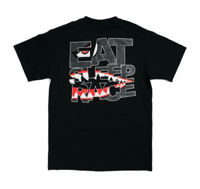 Shark Logo T-Shirt | Black
