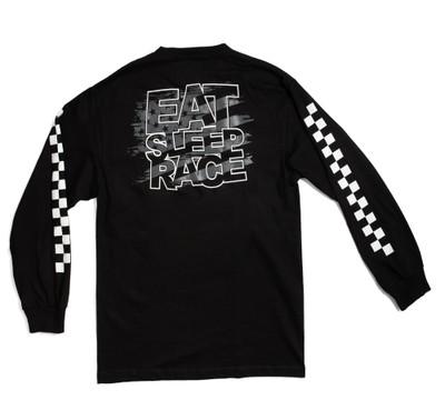 ESR Spark Flag Long Sleeve Shirt | Black