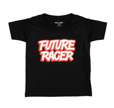 Fast Kids Club Future Racer 4 T-Shirt | Black