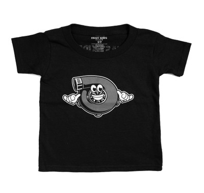 Fast Kids Club Shaka Turbo T-Shirt | Black