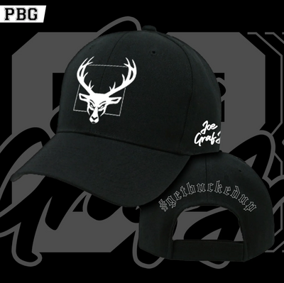 Joe Graf Jr Bucked Up Snapback Hat | Black
