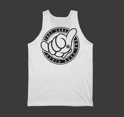 Shaka Tank Top | White