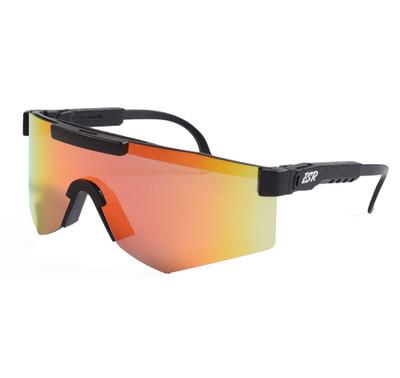 ESR Speedster Sunglasses | Matte Black/Red Iridium | Polarized
