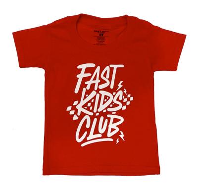 Fast Kids Club Rad T-Shirt | Red