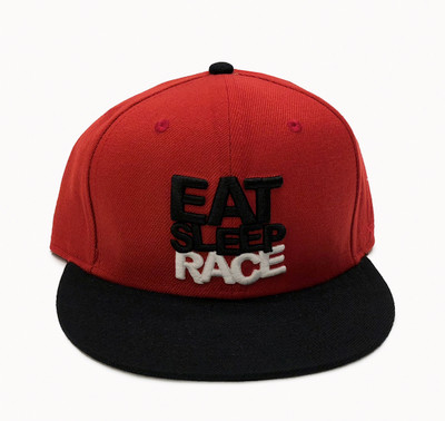 Team Fitted Hat | Red/Black