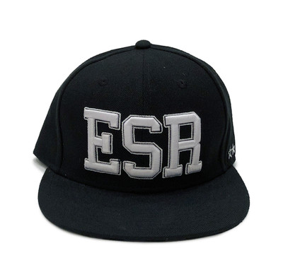 ESR Varsity Fitted Hat | Black