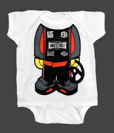 Infant One Piece Racer | Red