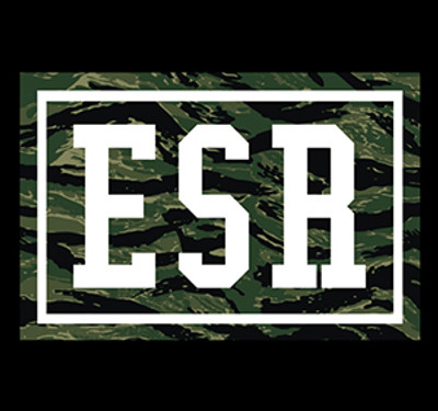 Tiger Camo ESR Sticker