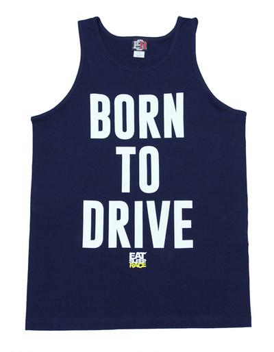 Born to Drive Tank Top | Navy