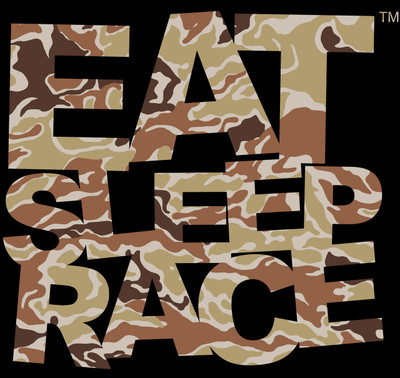 Logo Vinyl Decal | Woodland Brown Camo