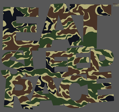 Logo Vinyl Decal | Jungle Camo