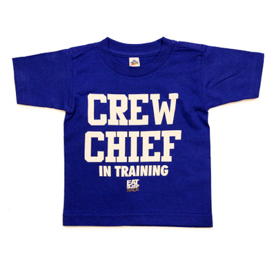 Kids Crew Chief T-Shirt | Blue