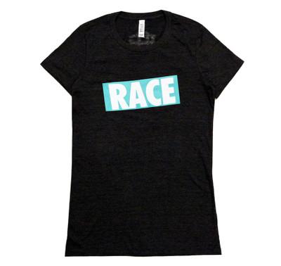 Ladies RACE Shirt | Grey/Teal