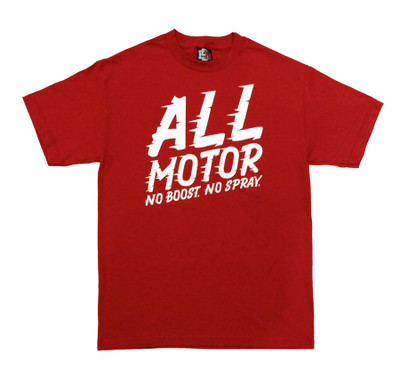 All Motor 4 T-Shirt | Cardinal Red