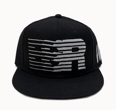 ESR Speedlines Snapback Hat | Black