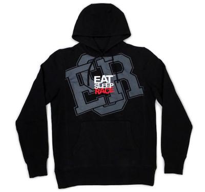 Pull Over Hoodie ESR Huge   Black