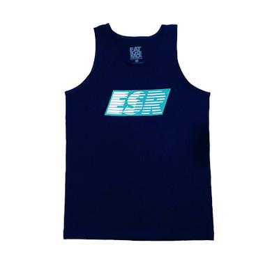 ESR Speedlines Tank Top | Navy/Teal