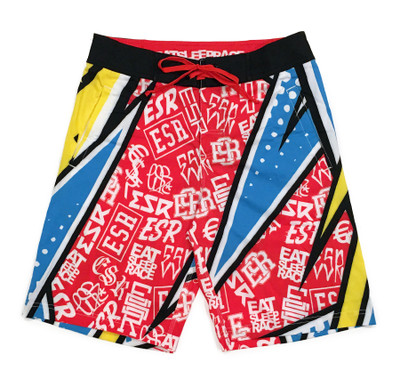 Active Shorts | ESR Rad Pattern Yellow