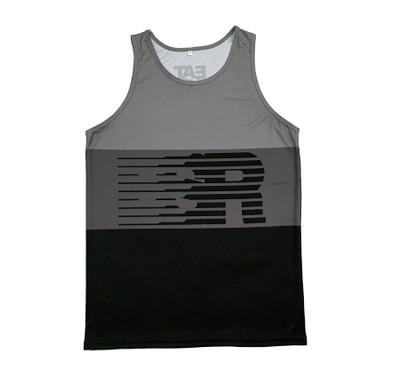 Speedlines Performance Tank Top | Black/Grey