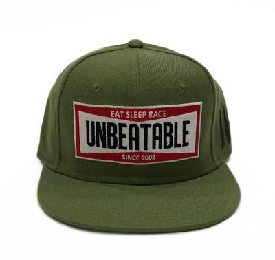 Unbeatable Snapback Hat   Olive