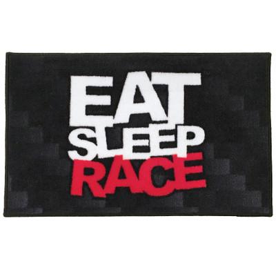 Logo Door Mat | Black/Red