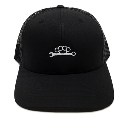 Knuckle Wrench Trucker Hat | Black