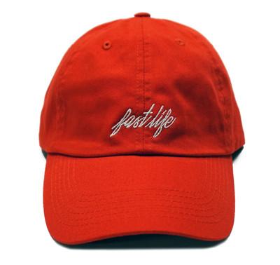 Fastlife Sport Strapback Hat   Red