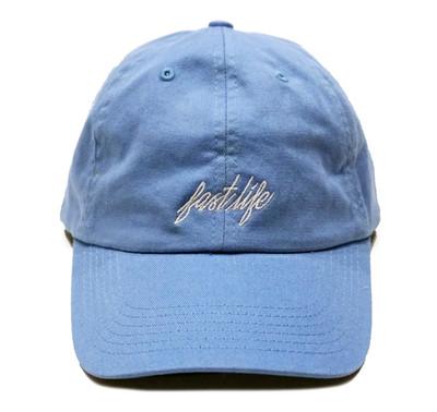 Fastlife Sport Strapback Hat | Powder Blue