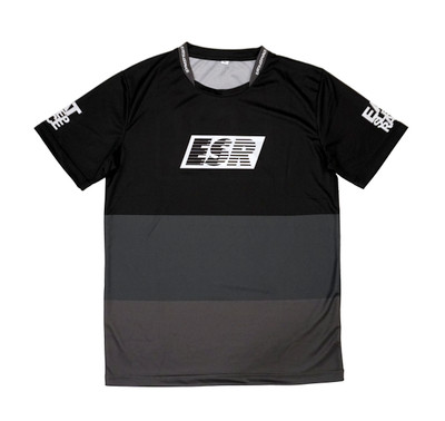 ESR Performance Racer Shirt | Black/Grey