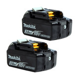 Makita BL1830B 18v 3Ah Battery Twin Pack (2x3Ah)