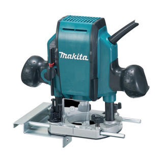 """Makita RP0900X 1/4"""" & 3/8"""" Plunge Router"""