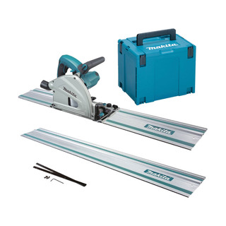 Makita SP6000J2 Plunge Cut Saw - Includes 2 Rails, Connectors