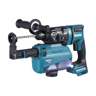 Makita DHR182ZV 18v SDS+ Brushless Rotary Hammer Drill With Extractor (Body Only)