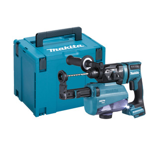 Makita DHR182ZVJ 18v SDS+ Brushless Rotary Hammer Drill With Extractor (Body Only + Case)