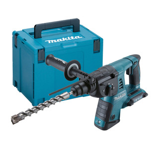 Makita DHR263ZJ Twin 18v LXT SDS+ Rotary Hammer Drill (Body Only + Case)
