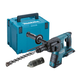 Makita DHR264ZJ Twin 18v LXT SDS+ Rotary Hammer Drill (Body Only + Case)