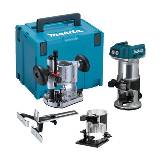 Makita DRT50ZJX2 18v Brushless Router/Trimmer (Body Only + Case)