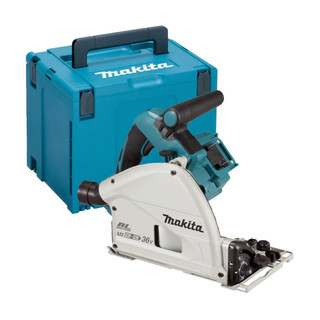 Makita DSP600ZJ Twin 18v Brushless 165mm Plunge Saw (Body Only + Case)