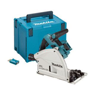 Makita DSP601ZJU Twin 18v Brushless Plunge Saw (Body Only + Case)