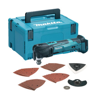 Makita DTM51ZJX7 18v LXT Multi Tool With Accessories (Body Only + Case)
