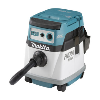 Makita DVC153LZ Twin 18v Brushless L Class Dust Extractor (Body Only)