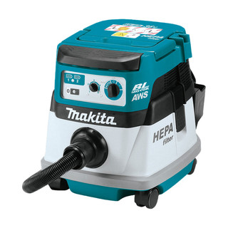 Makita DVC864LZ Twin 18v Brushless L Class Dust Extractor (Body Only)