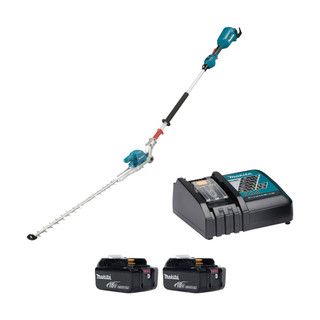 Makita DUN500W 18v Brushless Articulating Pole Hedge Trimmer (All Versions)